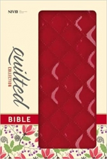 NIV Quilted Collection Red