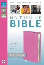 NIV Thinline bible - Metallic Pink
