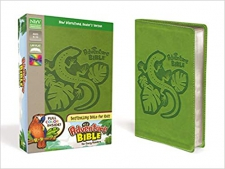 Adventure Bible for Early Readers, Green imitation leather