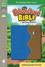 Adventure Bible for early readers Blue/brown clip