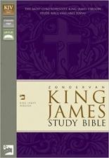 Zondervan KJV Study Bible Leather Bound