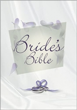 NIV Compact Thinline Bride's Bible Leather Bound (slightly imperfect)