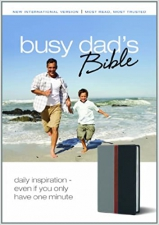 NIV - Busy Dad's Bible: Daily Inspiration Imitation Leather