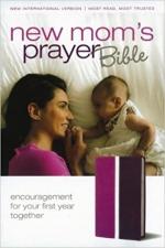 NIV: New Mom's Prayer Bible, imitation Leather, Pink/Purple