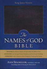 KJV Names of God Bible Mahogany duravella