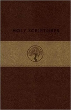 TLV Holy Scriptures Giant Print personal size leathertouch