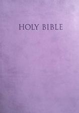 KJVER Thinline Large Print Purple indexed