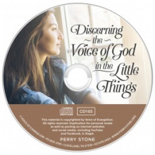 Discerning the Voice of God in the little Thing Audio