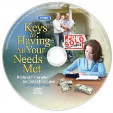 Keys to Having your needs Met Audio CD