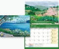 Calendar Picturesque Israel - Painting by Israeli Messianic