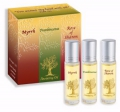 Anointing oil - 3 Pack Myrr, Frankinsence, Rose of Sharon