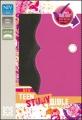 Teen Study Bible - pink & brown