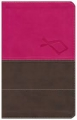 The Jesus Bible - Red/brown leatherlike
