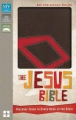 The Jesus Bible - Brown leatherlike