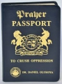 Prayer Passport (leather)
